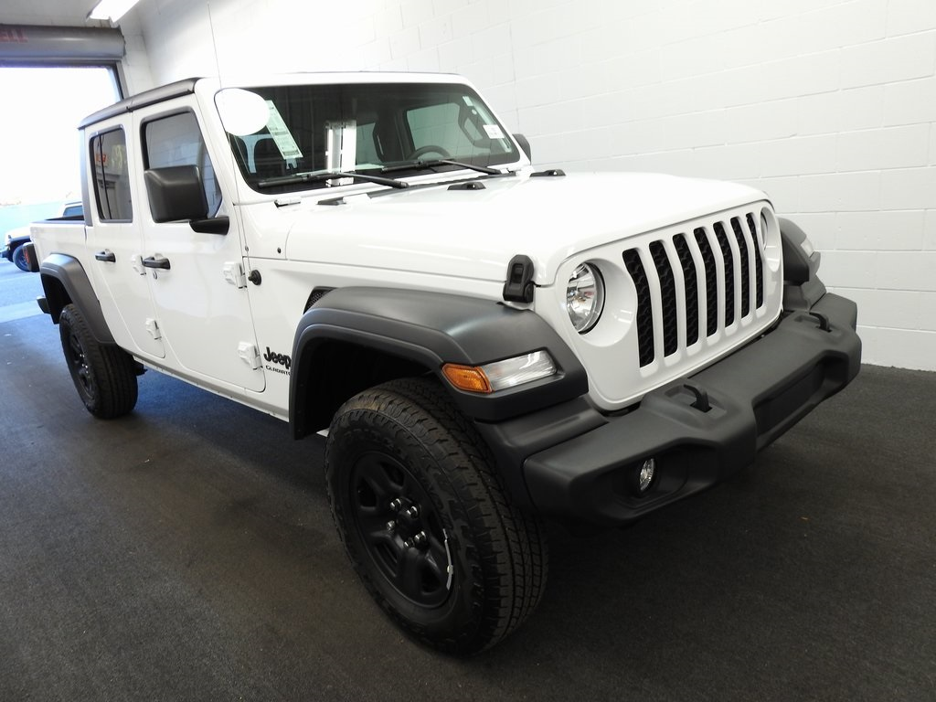 New 2020 JEEP Gladiator Sport 4x4 Crew Cab