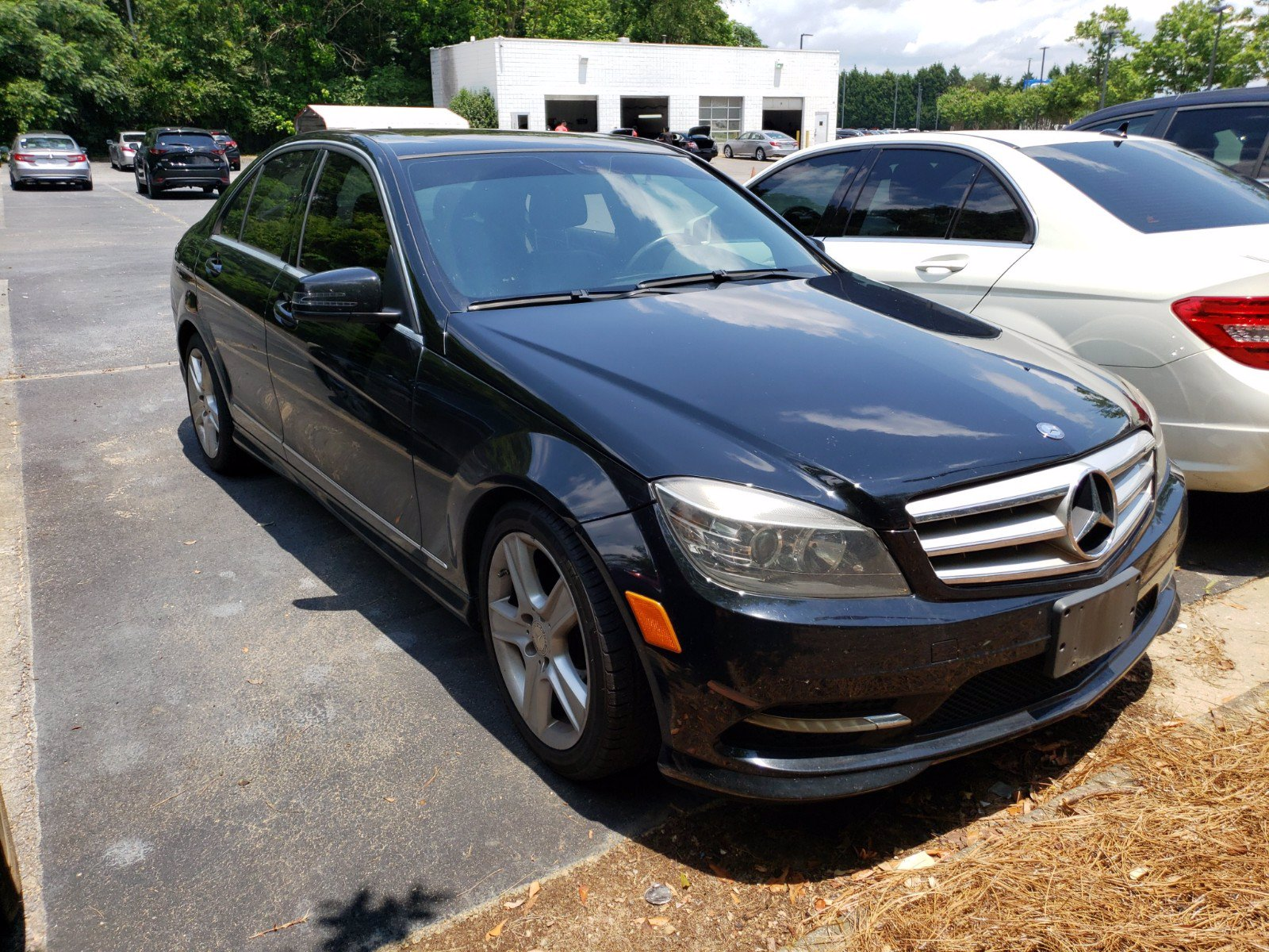 Pre-Owned 2011 Mercedes-Benz C-Class RWD 4dr Car