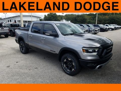New 2020 RAM 1500 Rebel 4x4 Crew Cab