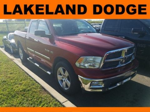 Pre-Owned 2010 Dodge Ram 1500 SLT 4WD 4D Extended Cab