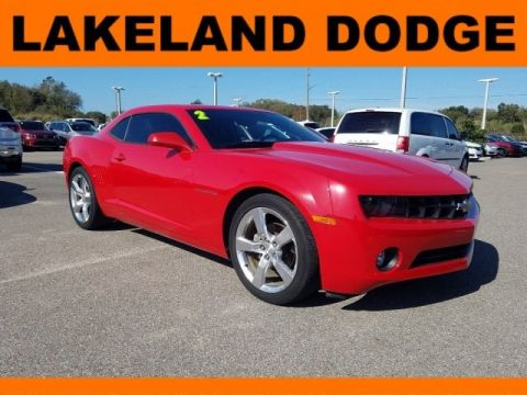 Pre-Owned 2012 Chevrolet Camaro 1LT RWD 2D Coupe