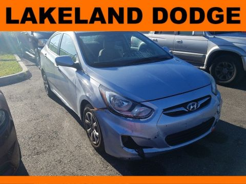 Pre-Owned 2014 Hyundai Accent GLS FWD 4dr Car
